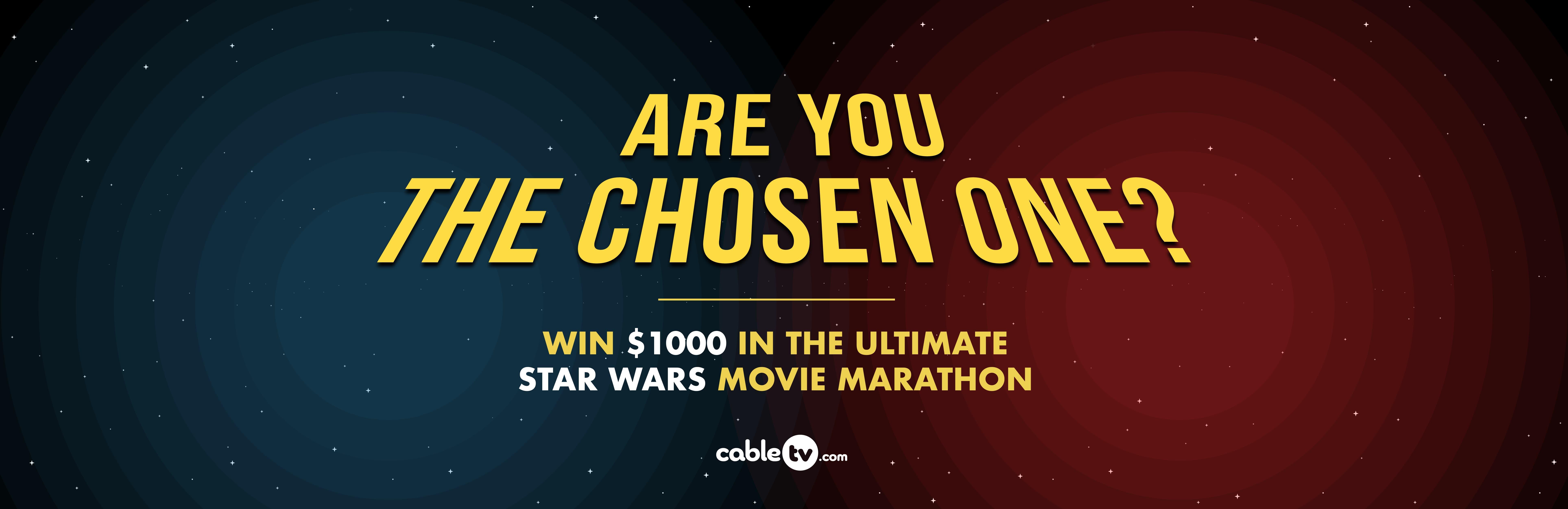 Star Wars Movie Marathon | CableTV.com
