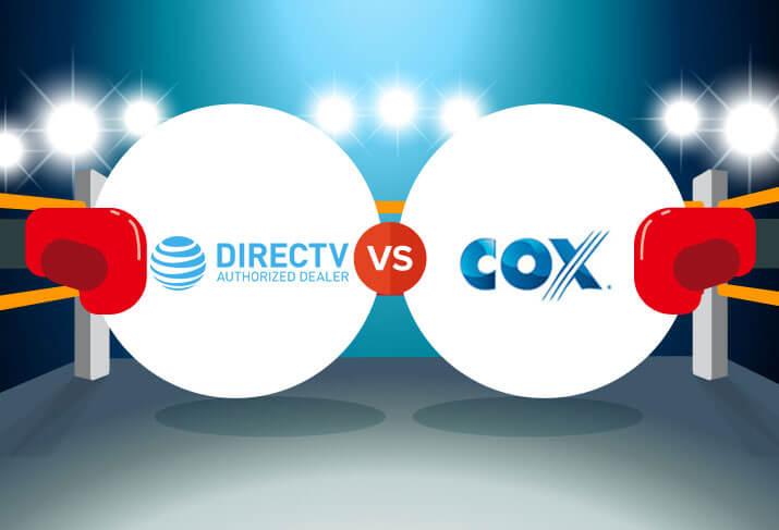 Compare DIRECTV vs  Cox | CableTV com
