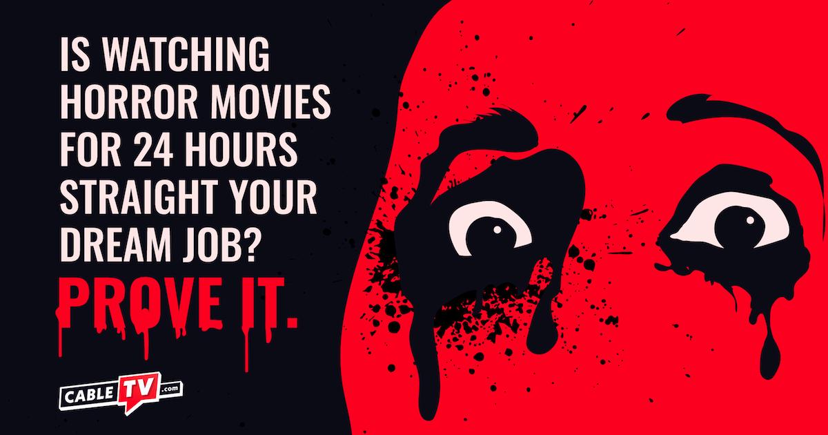 Horror Movies Marathon Dream Job