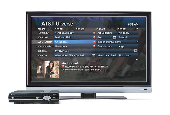 review of the at&t u-verse total home dvr