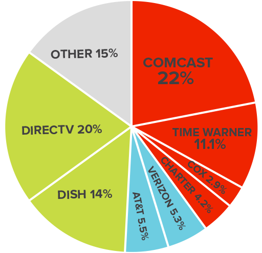Paid TV Market Share