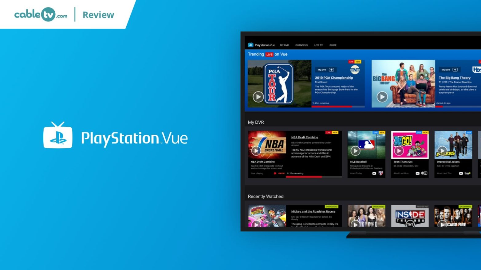 Playstation Vue Review: Prices, Channels, Devices & More