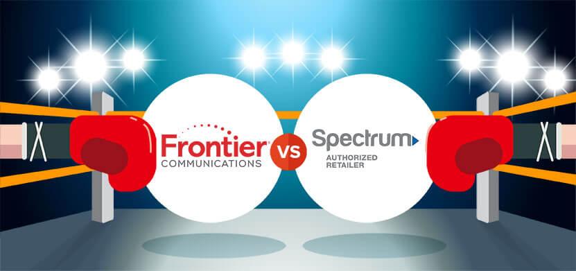Compare Frontier FiOS vs  Spectrum | CableTV com
