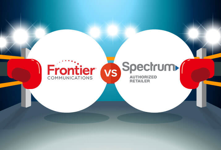 Frontier FiOS vs. Spectrum