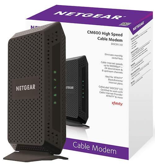 NETGEAR CM600 Image