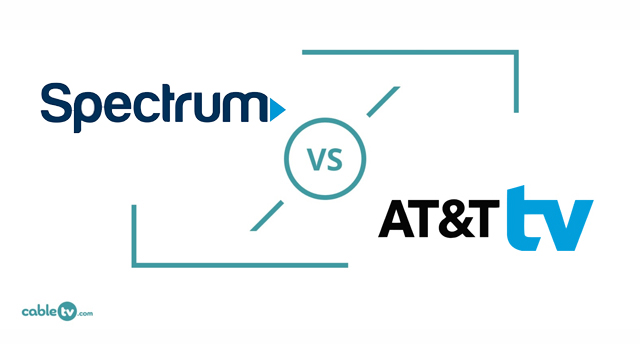 Spectrum vs. AT&T Internet