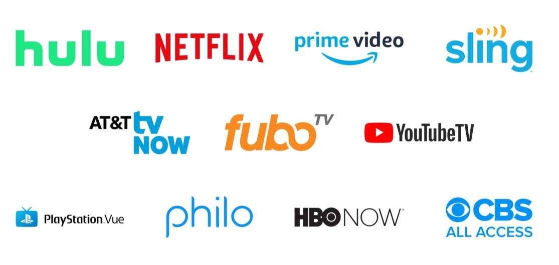 Tv Service Providers >> Streaming Service Providers 2019 Find The Streaming