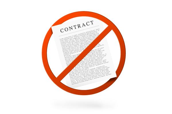 No Contract