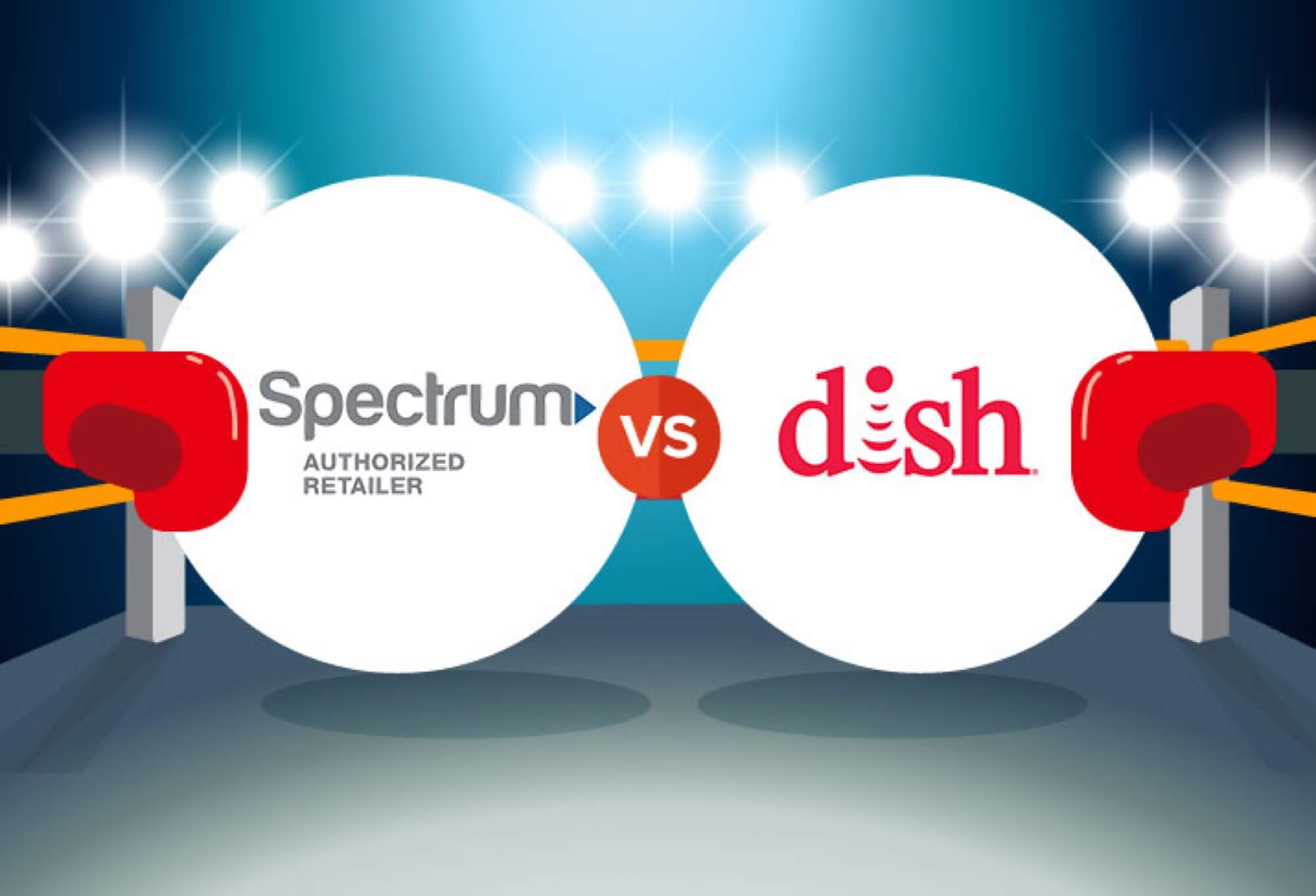 Compare Spectrum vs  DISH | CableTV com