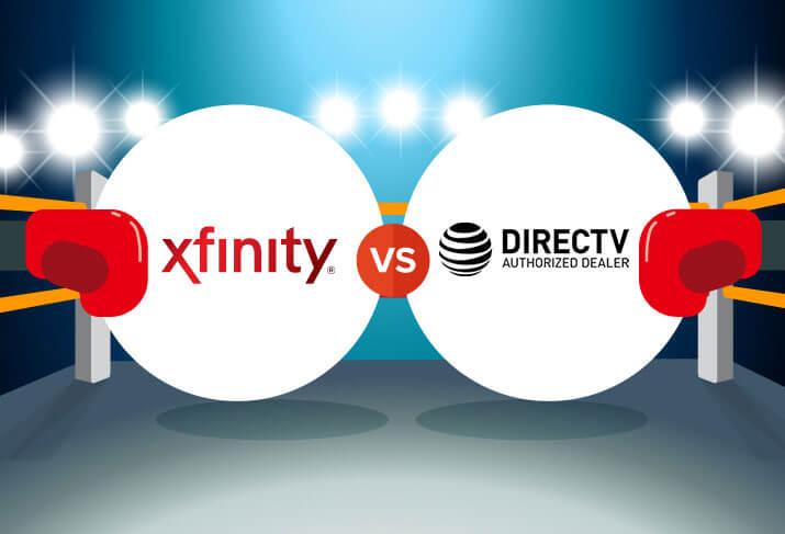 Xfinity vs  DIRECTV | CableTV com